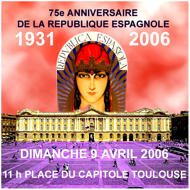 Toulouse le 9 avril 2006